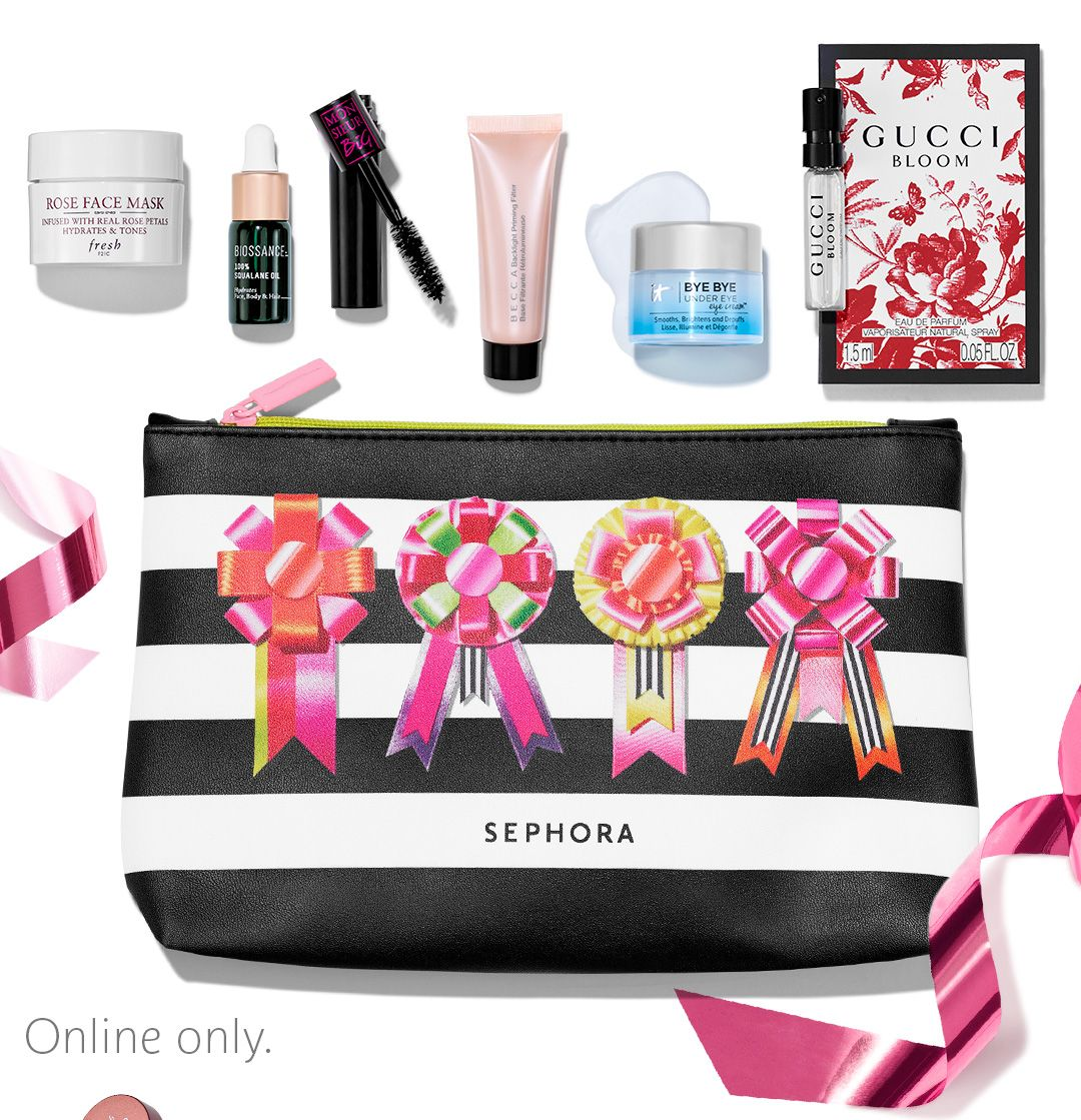 The Gift Receive Sample Bag Sephora Sephora Cyber Monday Beauty Beauty Deals