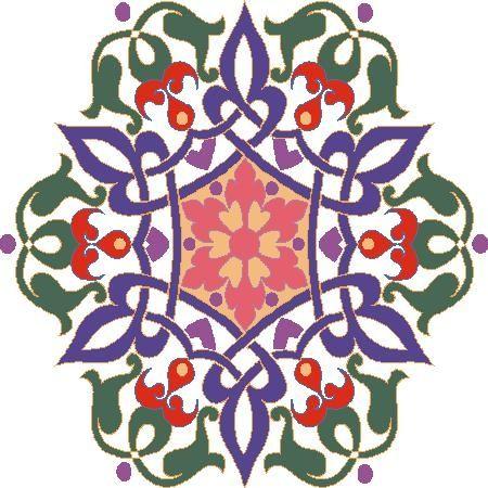 صور زخارف نباتية بنات جميلة Flower Drawing Pattern Art Arabesque Design