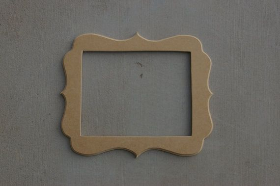11x14 Unfinished Whimsical Picture Frame Picture Frames Frame Whimsical