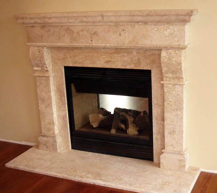 Baltimore Marble Fireplace Mantle http://artisankraftfireplaces ...