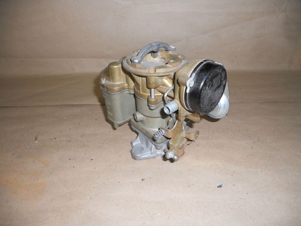 72-76 NOS Jeep CJ 6 Cylinder Carter Carburetor, Part# 7074s - New