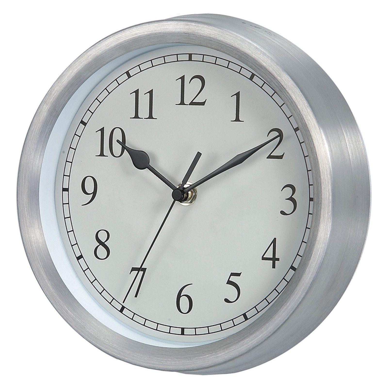 Verichron Basic 9 In Wall Clock Www Hayneedle Com Metal