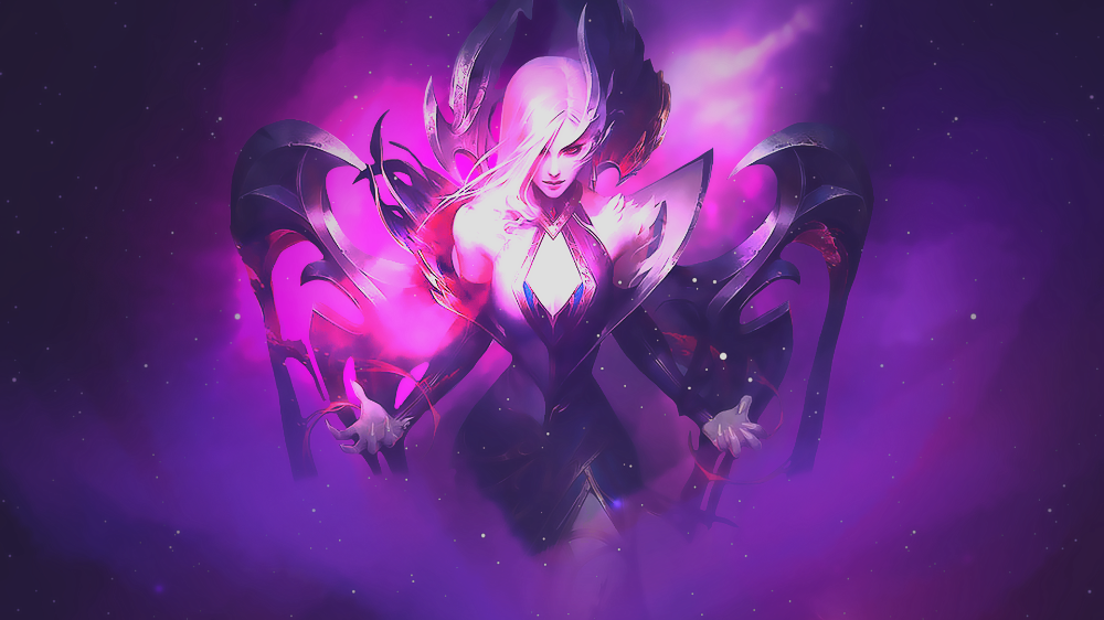 Wallpaper Morgana Coven By Nightmare Dsg On Deviantart League Of Legends Coven Anime Funny