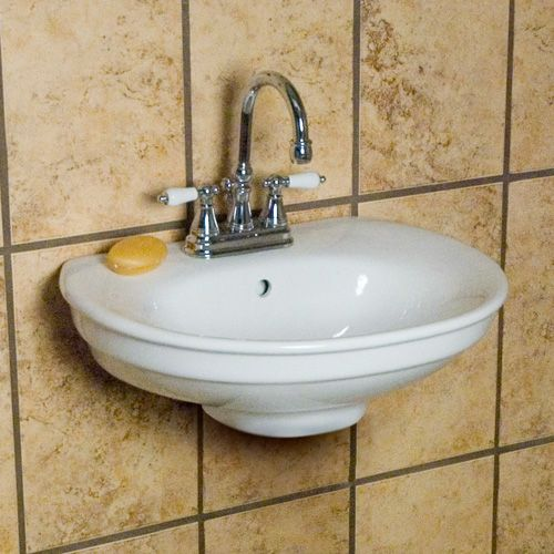 Preston Wall Mount Sink Overall