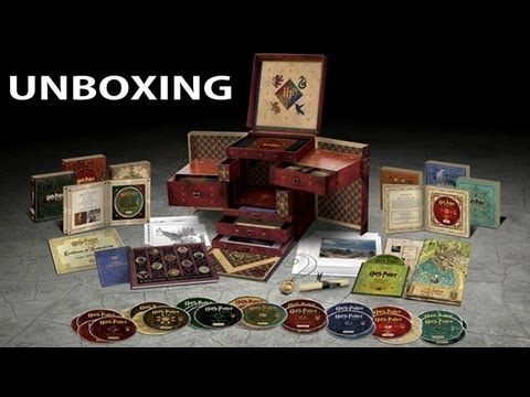 Shut up and take my Galleons!!!   / Harry Potter Wizard's Collection Boxset Unboxing