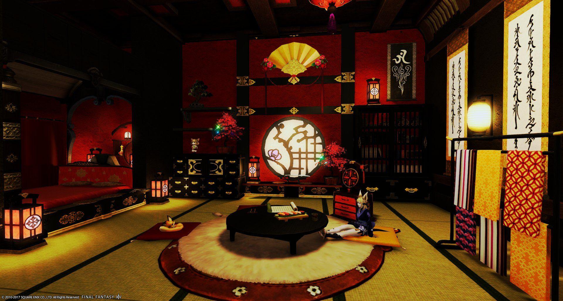 Twitter Fantasy Rooms Final Fantasy 14 Final Fantasy