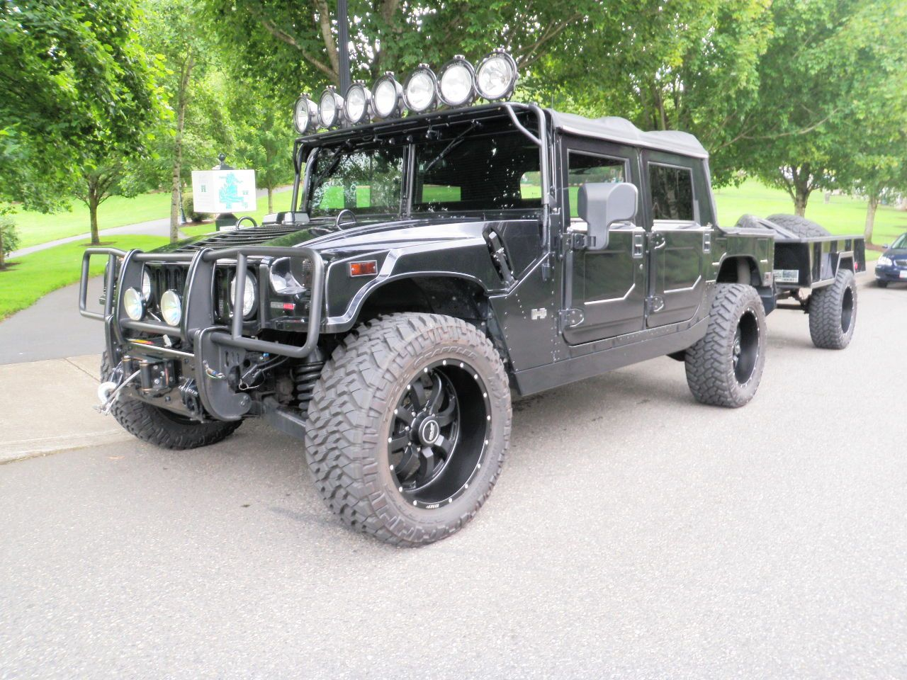 Image detail for hummer h1 alpha custom sema show truck with trailer