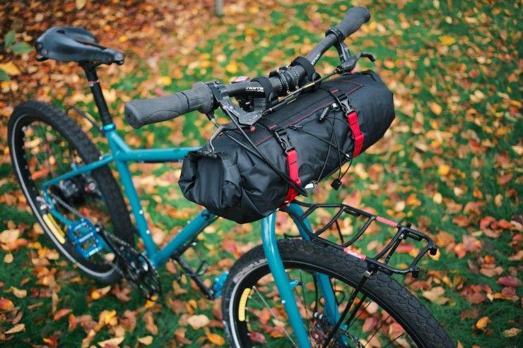 Revelate Handlebar Bags Harness Vs Sweet Roll Bikepacking Com Handlebar Bag Handlebar Bike Bag