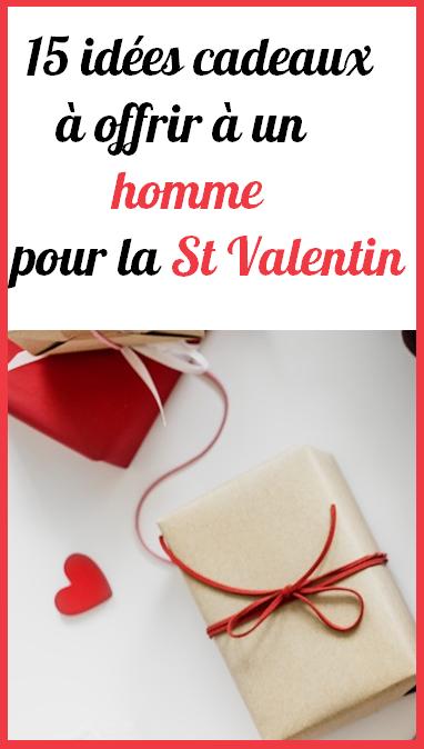 Idée Saint Valentin Homme 15 idées cadeau St valentin homme | Idée cadeau st valentin