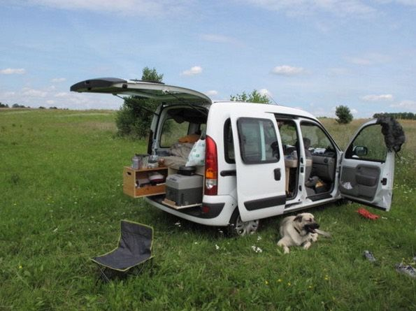 How To Turn Your Van Into A Diy Micro Camper Small Campers Ford