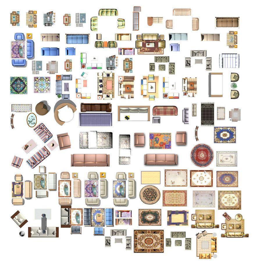 Sofa Blocks 3 By Jushiung Interior Design Renderings Interior Design Drawings Interior Design Plan