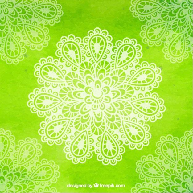 Green Yoga Background With Flower Yoga Background Vector Free Flower Download