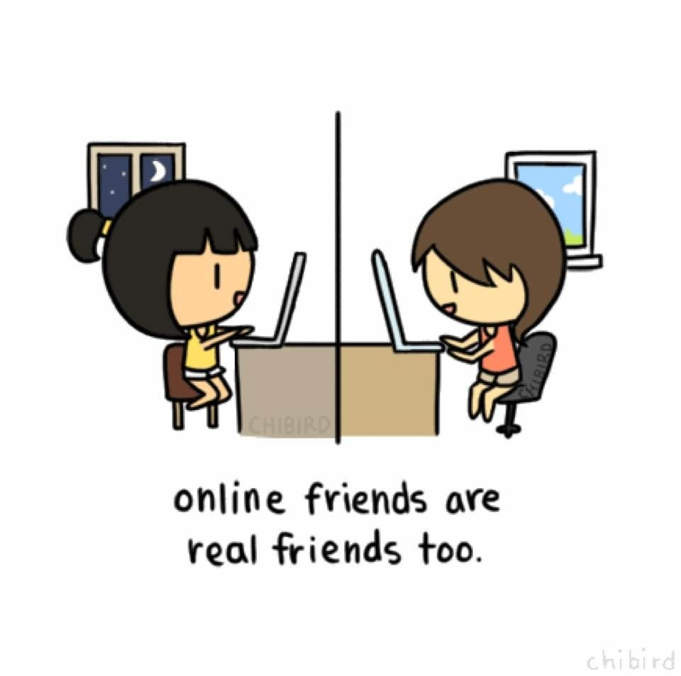 Online friendship chat