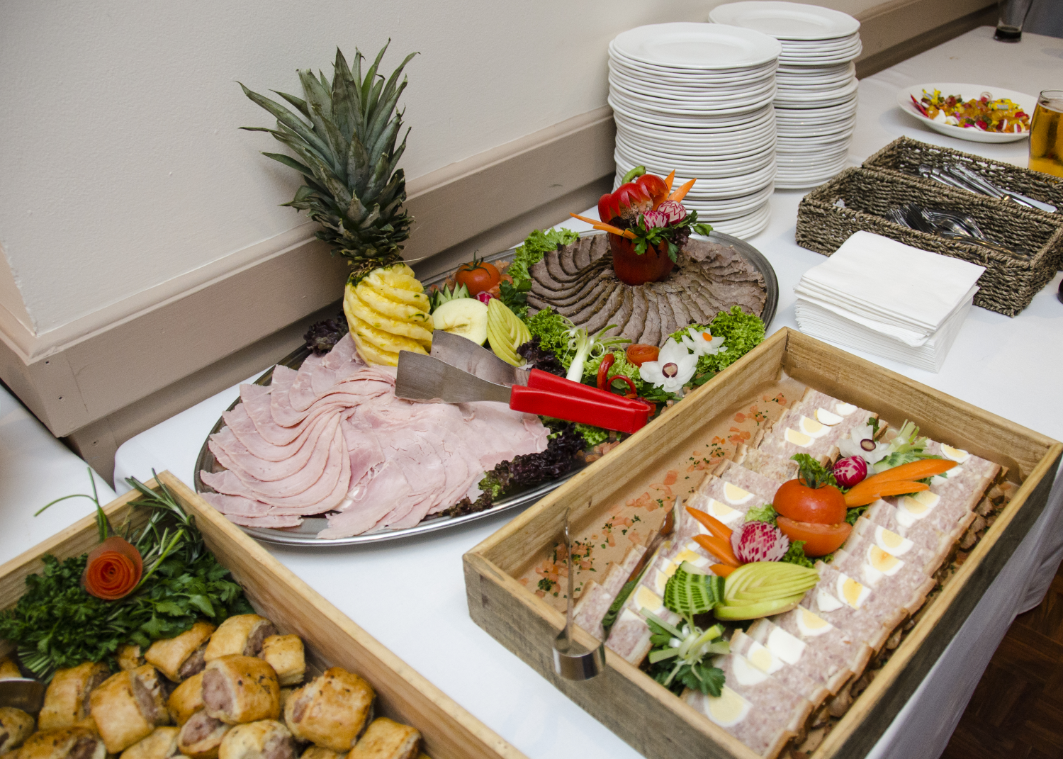You want to make sure your guests have the best time at your wedding so by us providing delicious food will bring smiles on their faces! This is just one of the many things we can do. Visit our website to find out more www.theoldrectoryweddingvenue.co.uk -Wedding venue Brentwood