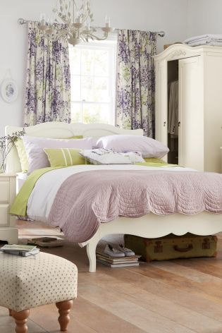 Buy Isabella Ivory Bedstead From The Next Uk Online Shop Upholstery Beds Beds Pinterest