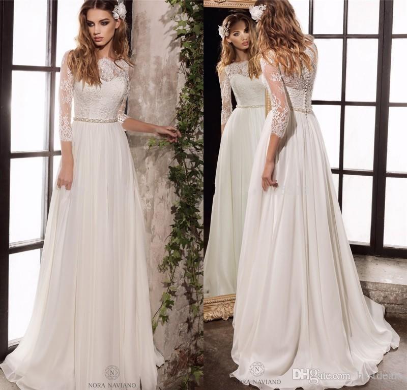 Simple Wedding Dresses for an Elegant Wedding | Brautkleider und Spitze
