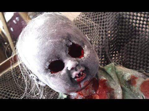 diy creepy scary doll - Scary Halloween Props
