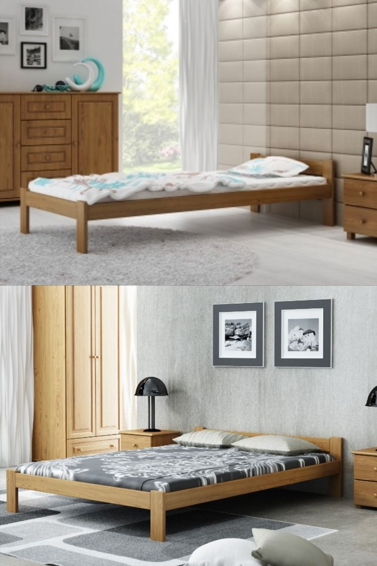 Details About Single Double King Size Solid Pine Wood Bed Frame
