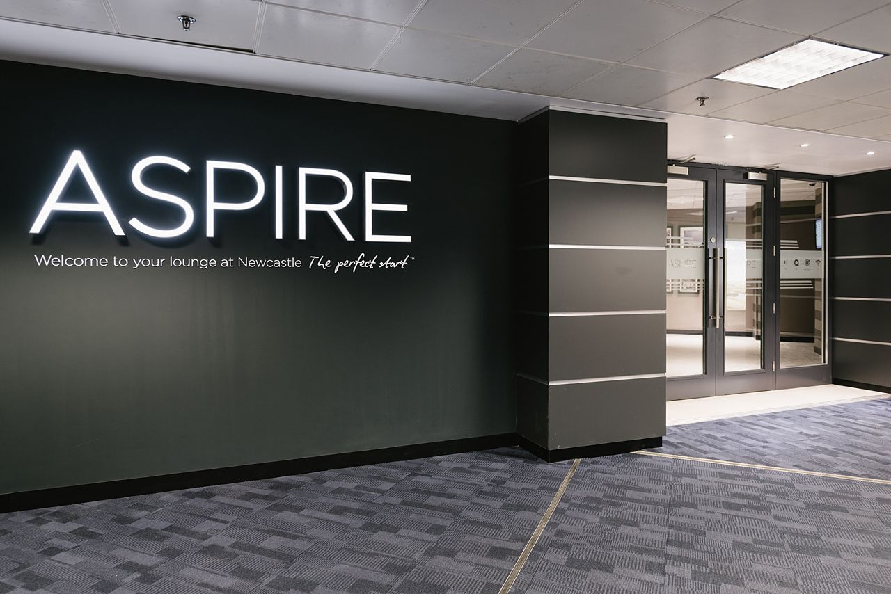 Aspire airport lounge at newcastle airport areo tecture for Office design newcastle
