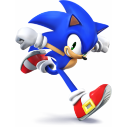 Number 38 Sonic Super Smash Brothers Ultimate Sonic