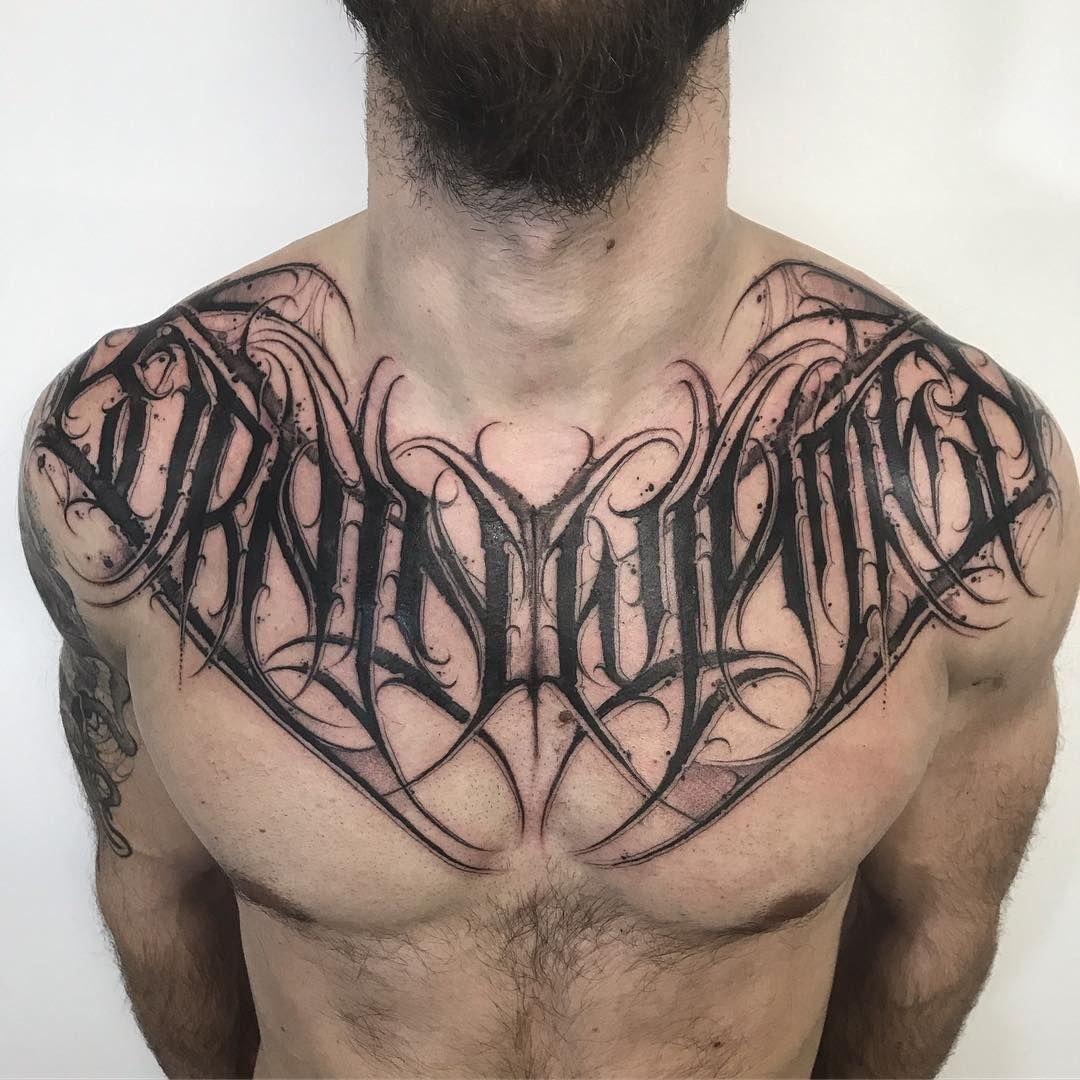 Lettering With Attitude On Instagram Born In Winter Black Core Letters Done With Hardcraftcom Tattoo Fonts Tattoos Tattoo Lettering Fonts