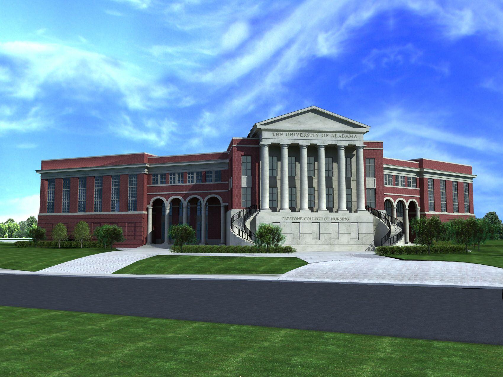 The University Of Alabama Capstone College Of Nursing Tuscaloosa Al The University Of Alabama University Of Alabama Colleges And Universities
