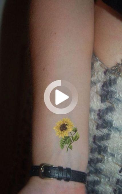 Best Tattoo Small Sunflower Google Ideas Sunflower tattoo &; Best Tatt
