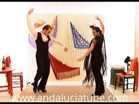 Aprenda A Bailar Sevillanas La Segunda Youtube Baile Sevillana Aprender A Bailar