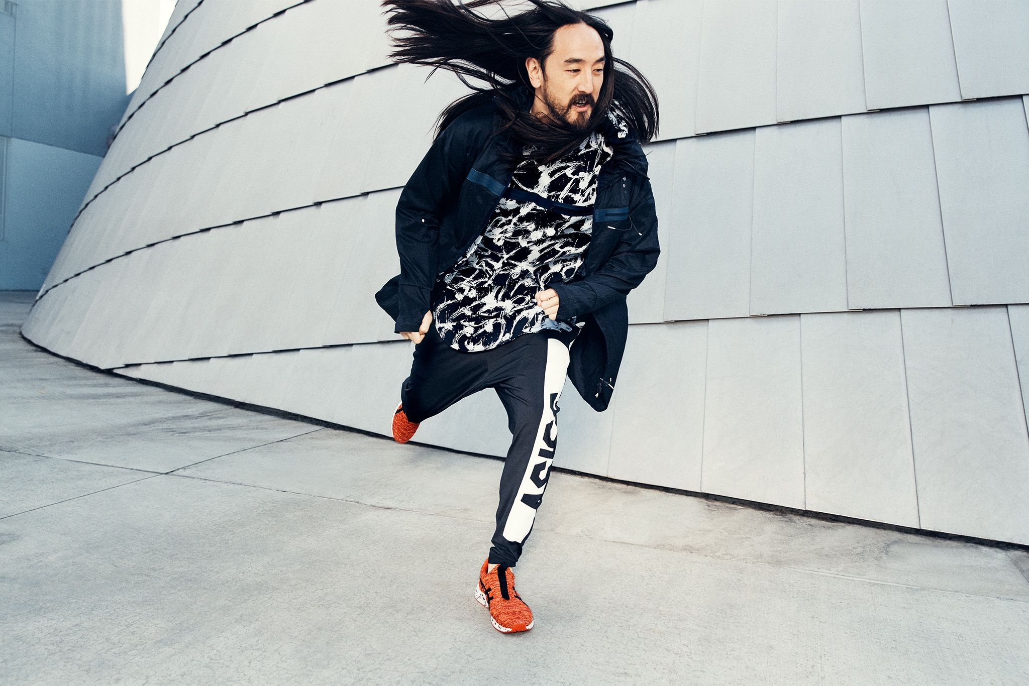 ASICS x Steve Aoki Hypergel Kenzen Collection