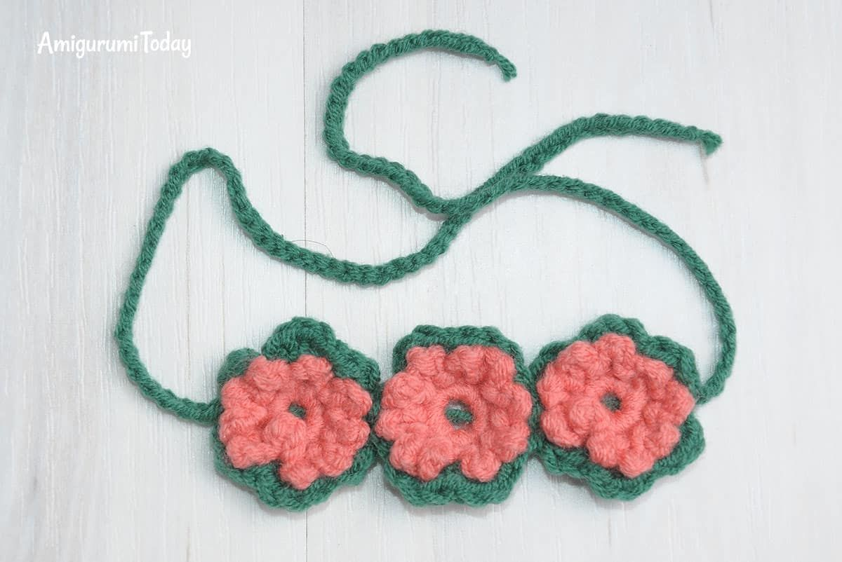 Honey bears crochet pattern - banda de flores | Tejidos | Pinterest ...