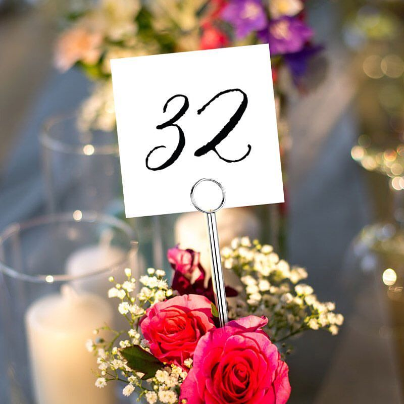 make your own table number cards with our printable templates print