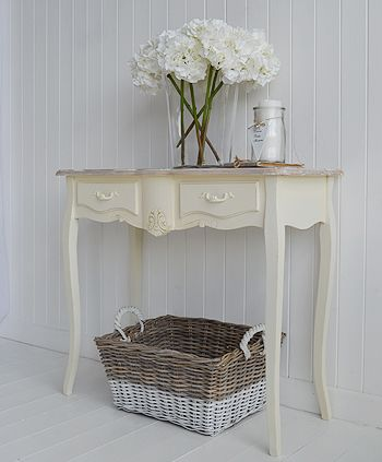 Cream Console Table cream console hall and sofa tables available online from the white
