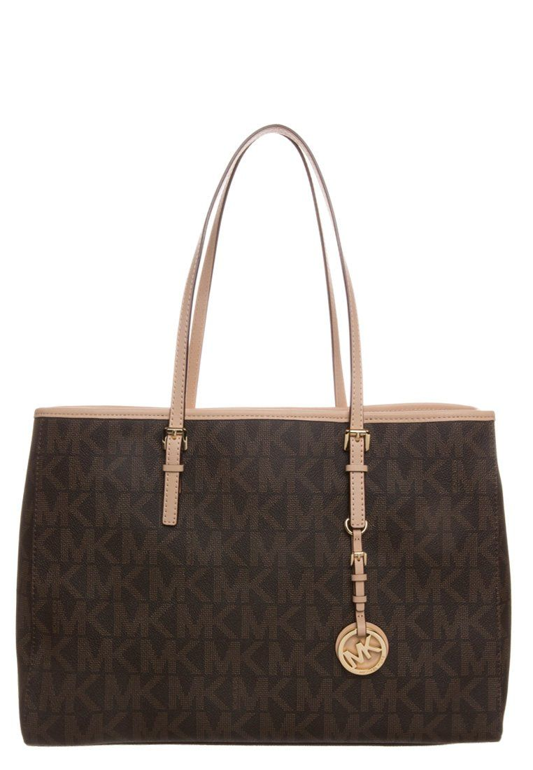 c147e30ef69 JET SET TRAVEL - Shopper - brown | outfit - Michael kors en Handtassen