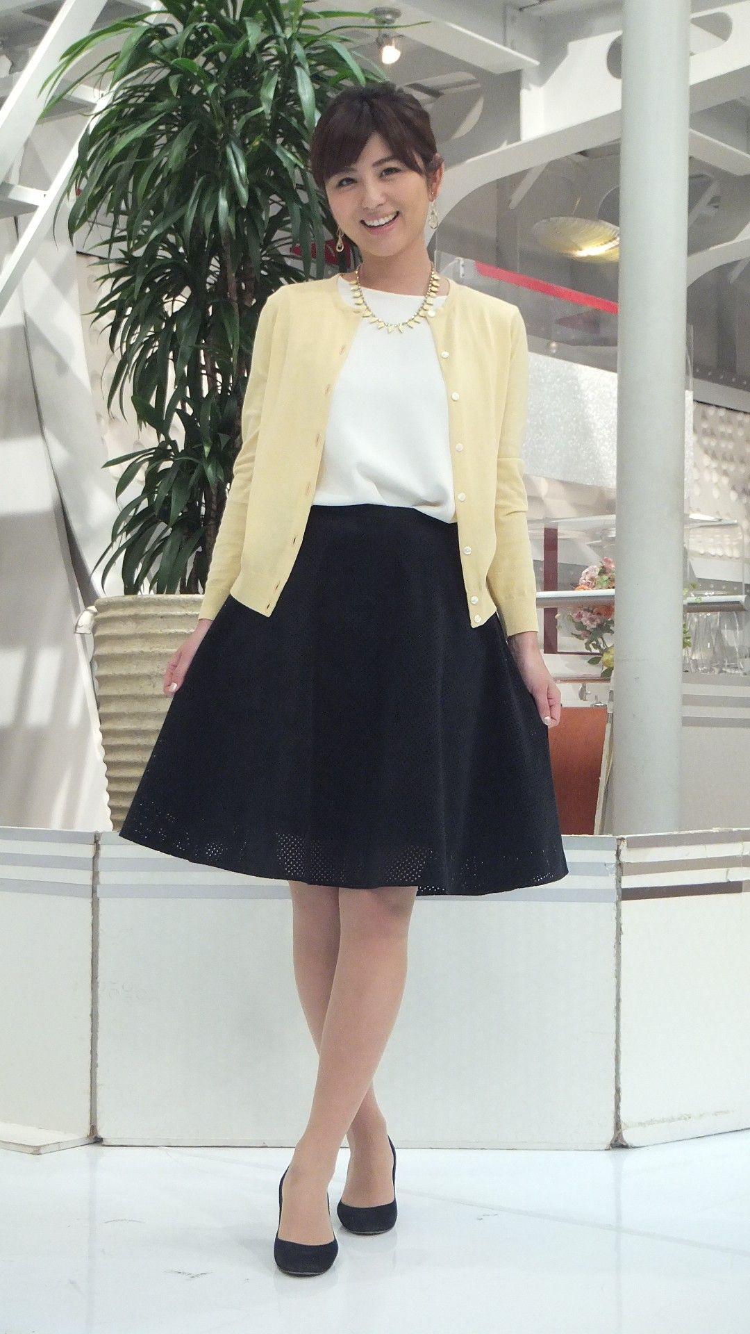 宇賀なつみ スカート
