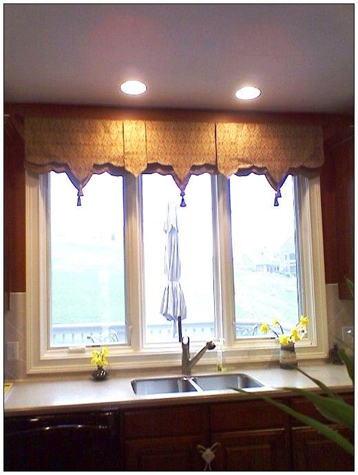 Brilliant Kitchen Window Treatments Window Treatments Kitchen Interior Design Ideas Clesiryabchikinfo