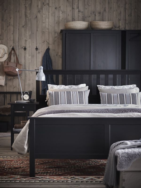 Bring Your Bedroom D Cor Dreams To Life Ikea Hemnes Bedroom Furniture Has A Traditional Style