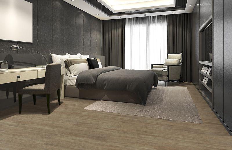 Modern Flooring Teak Vinyl Cork Luxury Bedroom Master Black Bedroom Decor Modern Bedroom