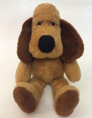 Vtg Alabama Bancorporation Princess Soft Toys Dog Doogan Henry