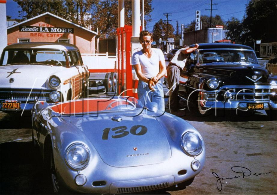 James Dean Porsche James Dean The Porsche 550 Spyder
