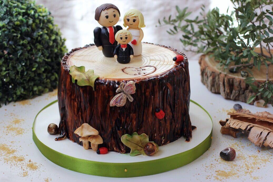 Картинки тортов к деревянной свадьбы