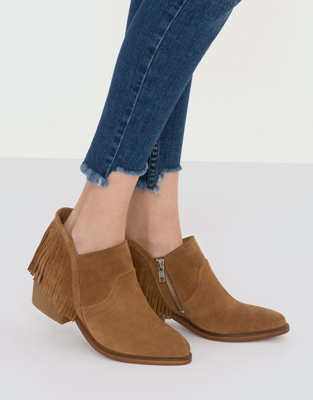 shoes with products Bear Pull new suede boots ankle wPkn0ON8X
