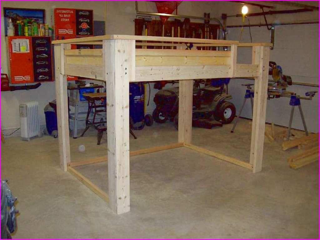 The Best Diy Full Size Loft Bed Build A Loft Bed Diy Loft Bed