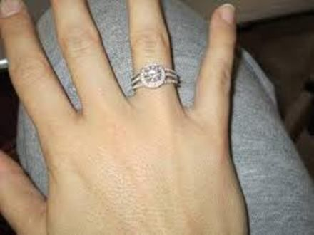 Beau Wedding Rings On Right Hand