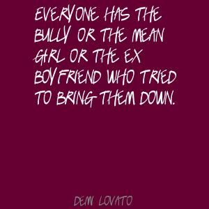 taylor swift bullying quotes | everyone has the bully or the