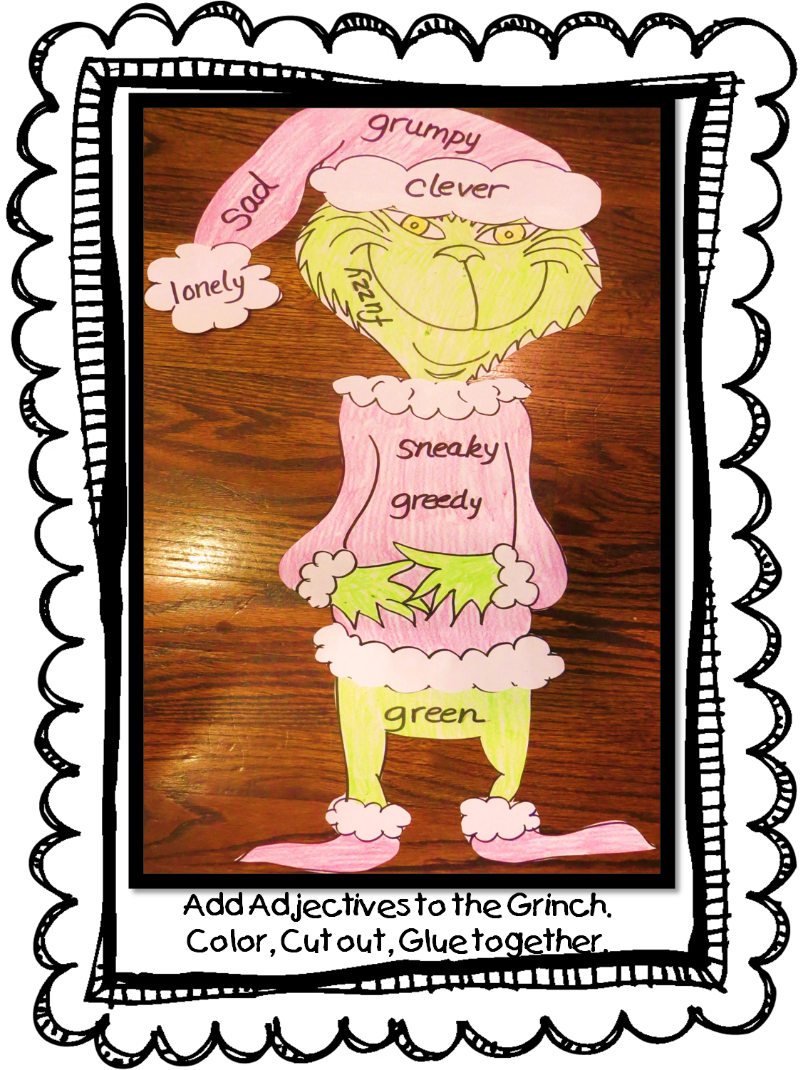 First Grade Wow A Pinch Of Grinch Free Unit How The