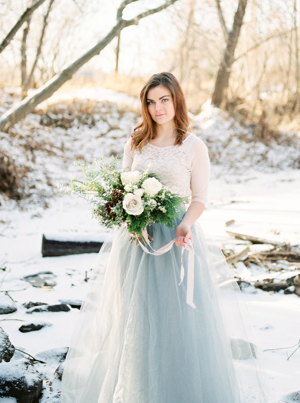 Canadian Winter Bridal Inspiration