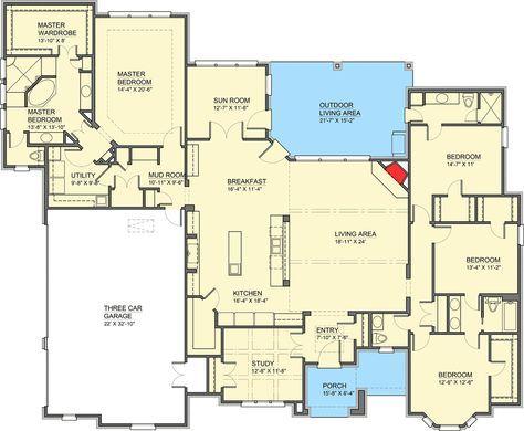 Plan 100008shr European House Plan With Sun Room Traditional House Plans Traditional House Plan House Plans