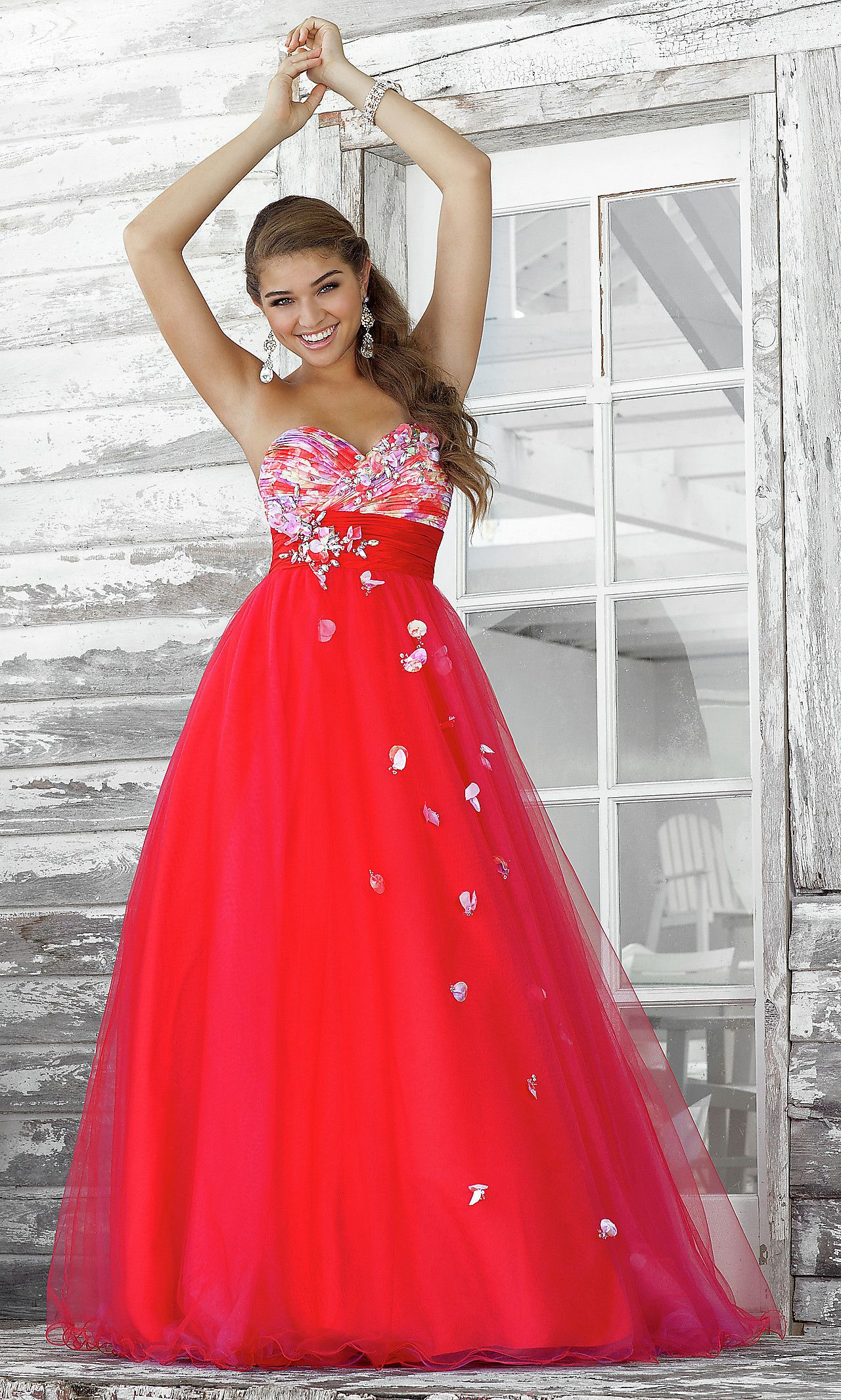 Front formal pinterest strapless gown ball gowns and prom