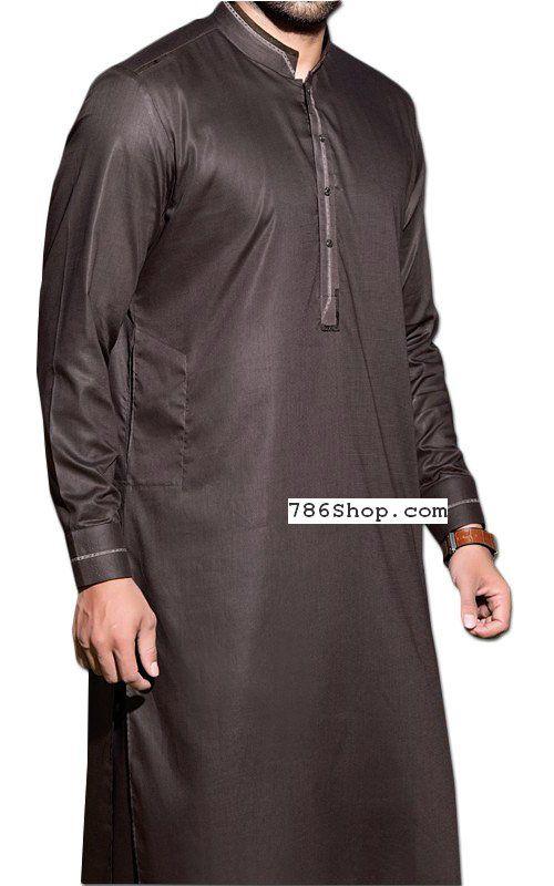 5fc0bec9b0 Metal Grey Men Shalwar Kameez | Buy Pakistani Designer Fashion Dress ...