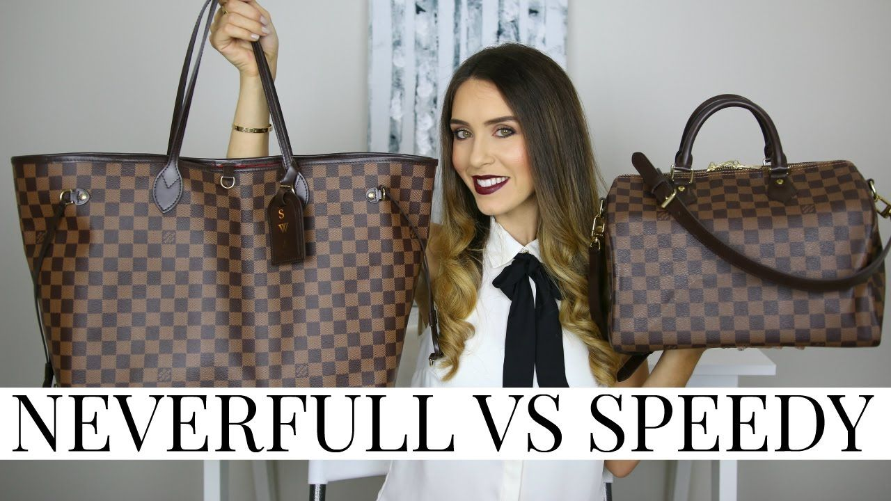 093ef33d7519 LOUIS VUITTON NEVERFULL VS SPEEDY